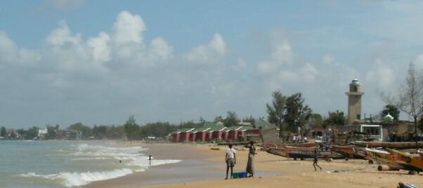 Port de Ngaparou.