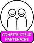Construire au Sénégal. Logo.